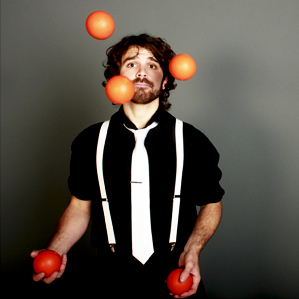 Stage Juggling Balls